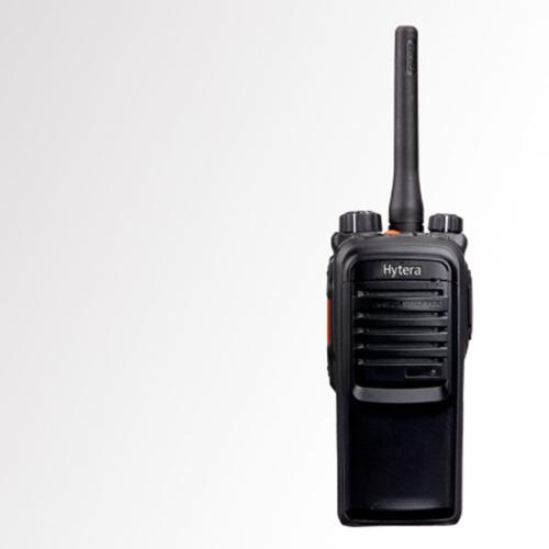 Radio Portátil Intrínsecamente Seguro - Certificación UL PD706G | UL913 marca Hytera