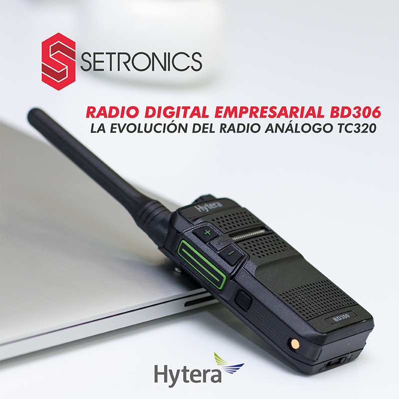RADIO DIGITAL EMPRESARIAL BD306, LA EVOLUCION DEL RADIO ANALOGO TC320