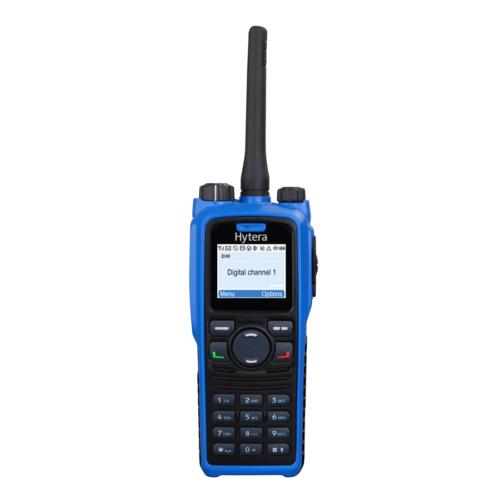 Radio Portátil Intrínsecamente Seguro PD796 Ex marca Hytera