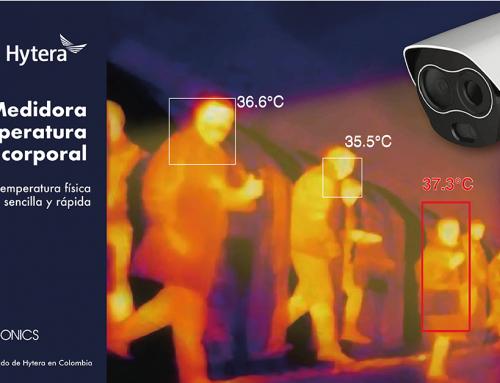HYTERA, Cámara Medidora de temperatura corporal