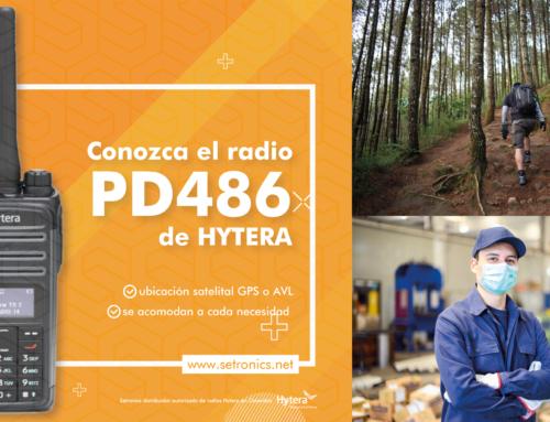 Conozca el radio PD486 de HYTERA