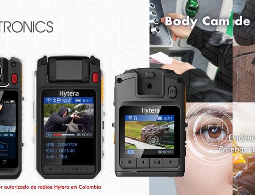 Body Cam de Hytera, tecnología e innovación hoy mirando al futuro.