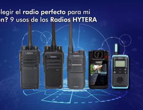 ¿Cómo elegir el radio perfecto para mi operación? 9 usos de los Radios HYTERA